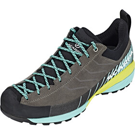 Scarpa Mescalito Shoes Women titanium/green blue